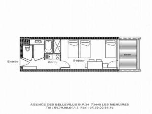 Apartment Chaviere, Appartamenti  Les Menuires - big - 4