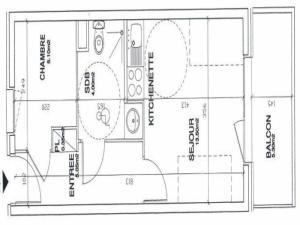 Apartment Valmonts b, Appartamenti  Les Menuires - big - 8