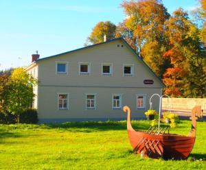 Viesu māja Aveņkrasti, Alloggi in famiglia  Krāslava - big - 16