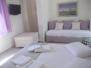 Alkyoni Beach Hotel, Hotely  Naxos Chora - big - 11