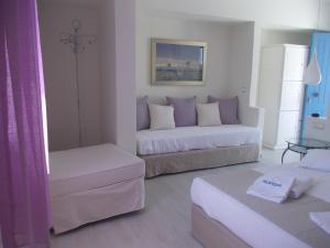Alkyoni Beach Hotel, Hotely  Naxos Chora - big - 43