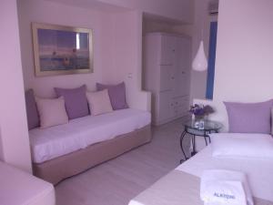 Alkyoni Beach Hotel, Hotely  Naxos Chora - big - 7