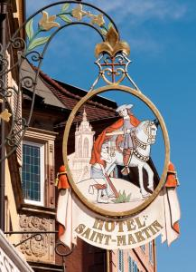 Saint-Martin, Hotely  Colmar - big - 39