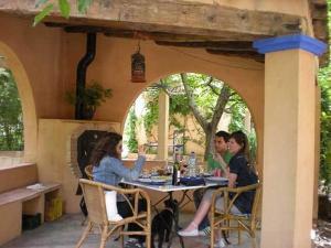 El Molino del Rio Argos, Загородные дома  Benablón - big - 27