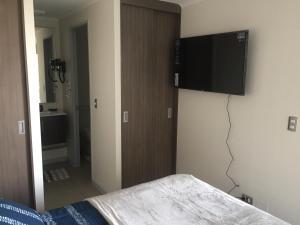 Apart Hotel Vip, Apartmány  Santiago - big - 5