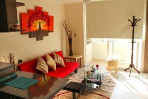 Apart Hotel Vip, Apartmány  Santiago - big - 4