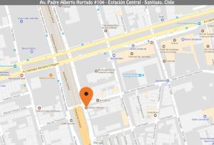 Departamento Amoblado Estacion Central - Limite Apart Hotel, Apartmány  Santiago - big - 17