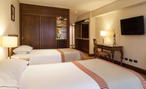 Hotel Plaza San Francisco, Hotel  Santiago - big - 6