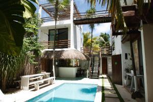 Residencia Gorila, Apartmanhotelek  Tulum - big - 90