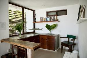 Residencia Gorila, Apartmanhotelek  Tulum - big - 48