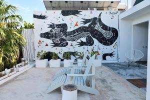 Residencia Gorila, Apartmanhotelek  Tulum - big - 13