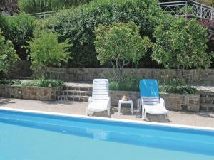 Five-Bedroom Holiday home with Sea View in Melissi Korinthos, Ferienhäuser  Melission - big - 28