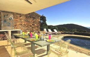 Villa Seteais, Vily  La Garde-Freinet - big - 23