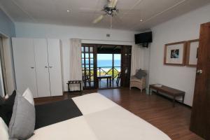 Chambre Double avec Balcon - Vue sur Mer