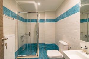 Blue Oyster Villas, Виллы  Платанес - big - 28
