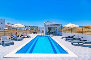 Blue Oyster Villas, Виллы  Платанес - big - 34