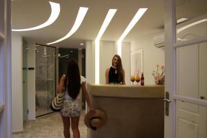 Spiros, Apartmanhotelek  Náxosz - big - 150