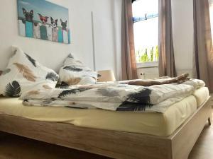 Traumlage 60qm WohlfuehlOase am Lu, Apartmanok  Bünde - big - 12