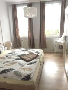 Traumlage 60qm WohlfuehlOase am Lu, Apartmanok  Bünde - big - 11