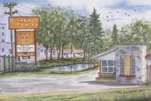 Franklin Motel, Tent & Trailer Park, Мотели  Норт-Бей - big - 13
