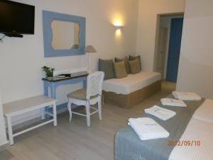 Alkyoni Beach Hotel, Hotely  Naxos Chora - big - 13