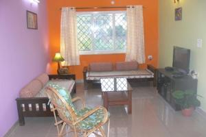 1 BR Apartment in Sailgao, Saligao, by GuestHouser (9B20), Apartmány  Saligao - big - 11