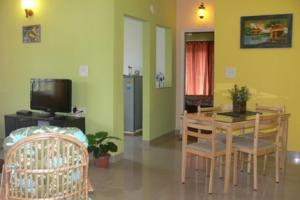 1 BR Apartment in Sailgao, Saligao, by GuestHouser (9B20), Apartmány  Saligao - big - 6