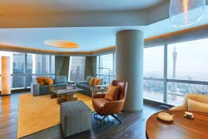 One Bedroom King Suite with Canton Tower View