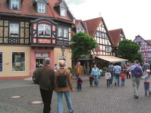 AKZENT Hotel Haus Sonnenberg, Hotely  Schotten - big - 16