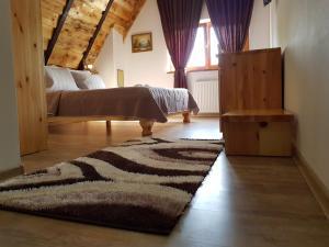 Rustic Lodge Plitvice, Bed and Breakfasts  Jezerce - big - 4