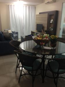 Apartamento Cobertura Com Piscina Privativa Praia Ingleses, Apartmány  Florianópolis - big - 2