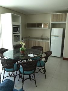 Apartamento Cobertura Com Piscina Privativa Praia Ingleses, Apartmány  Florianópolis - big - 4