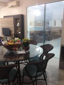 Apartamento Cobertura Com Piscina Privativa Praia Ingleses, Apartmanok  Florianópolis - big - 5