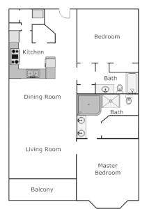 Tidewater 905 Condo, Apartmány  Panama City Beach - big - 3
