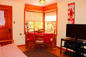 Two-Bedroom Bungalow with Balcony