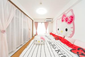 Shinsaibashi 8ppl, Apartmány  Osaka - big - 73
