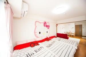 Shinsaibashi 8ppl, Apartmány  Osaka - big - 38