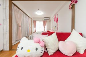 Shinsaibashi 8ppl, Apartmány  Osaka - big - 66