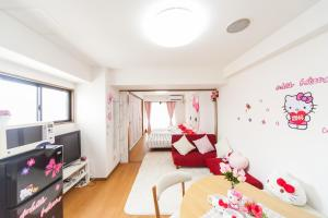 Shinsaibashi 8ppl, Apartmány  Osaka - big - 45