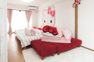 Shinsaibashi 8ppl, Apartmány  Osaka - big - 34