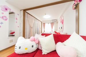 Shinsaibashi 8ppl, Apartmány  Osaka - big - 11