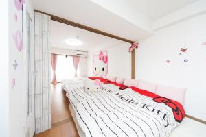 Shinsaibashi 8ppl, Apartmány  Osaka - big - 61