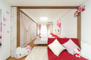 Shinsaibashi 8ppl, Apartmány  Osaka - big - 58
