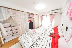Shinsaibashi 8ppl, Apartmány  Osaka - big - 14