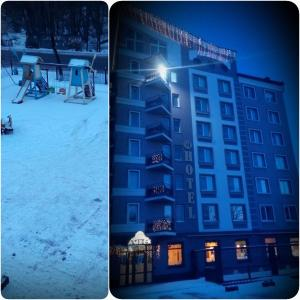 AMBER Hotel & Cafe, Hotels  Bohorodchany - big - 58
