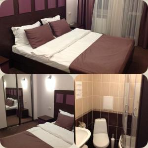 AMBER Hotel & Cafe, Hotels  Bohorodchany - big - 19