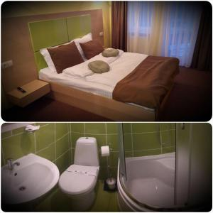 AMBER Hotel & Cafe, Hotels  Bohorodchany - big - 21