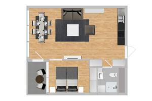 Apartment - Mandalls gate 10-12, Appartamenti  Oslo - big - 58