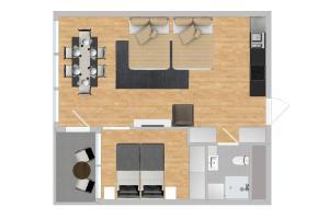Apartment - Mandalls gate 10-12, Appartamenti  Oslo - big - 67
