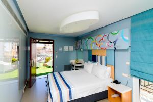 Kastro Hotel, Hotels  Heraklio Town - big - 91